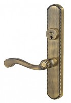 Venice Antique Brass Exterior angled