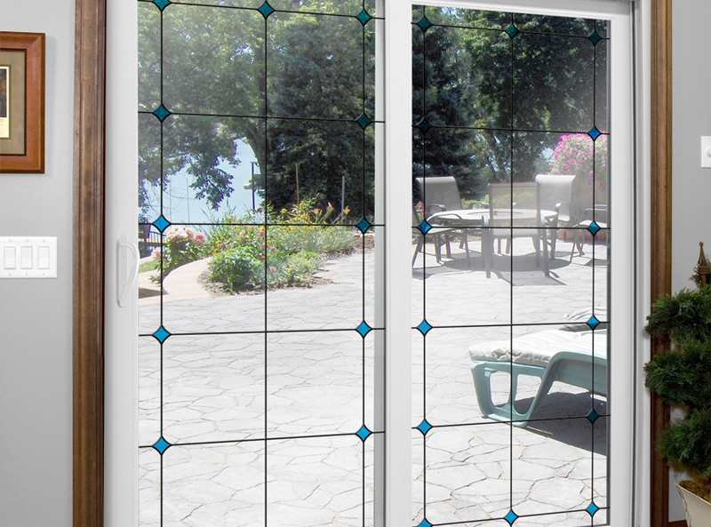 image of patio door
