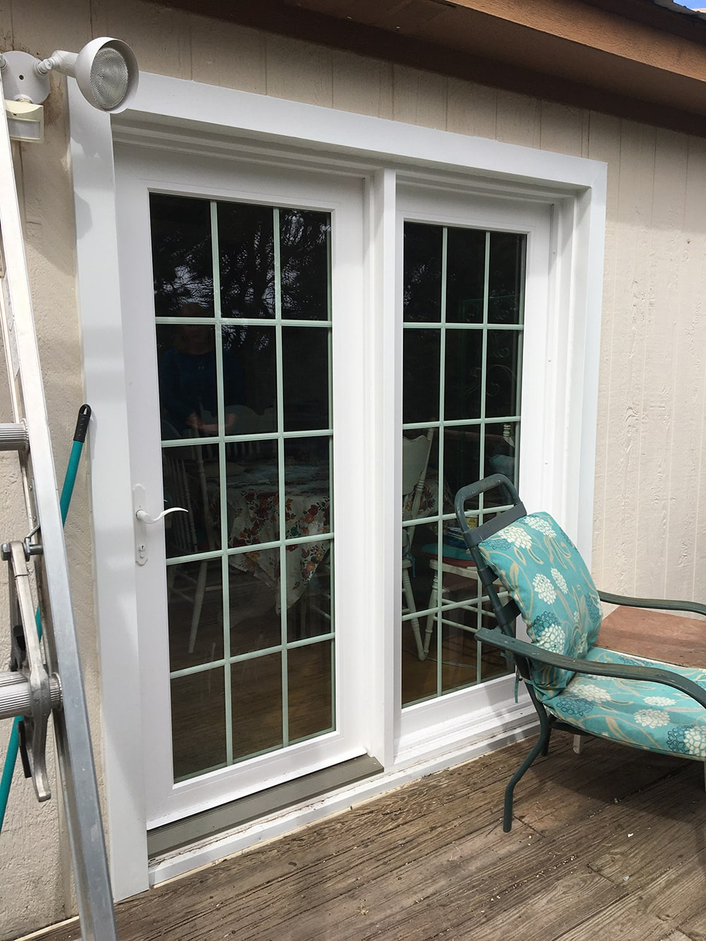 swinging door installation 5