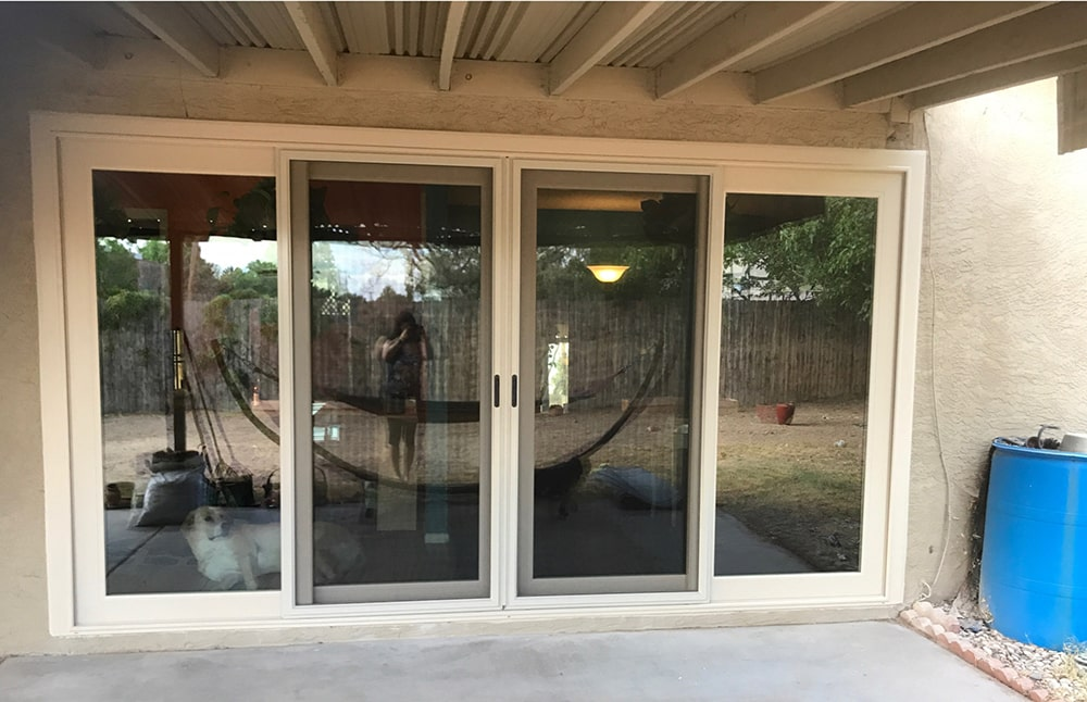 Installation of Sliding Patio Doors