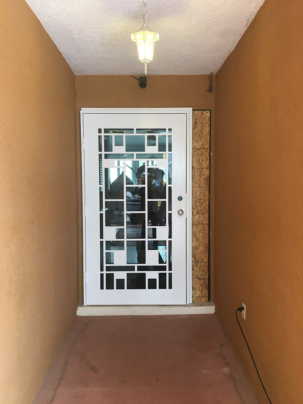 installation of a titan ultimate door