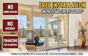 image of free installation promotion